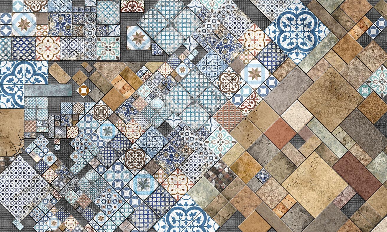 wallpaper ordered tiles