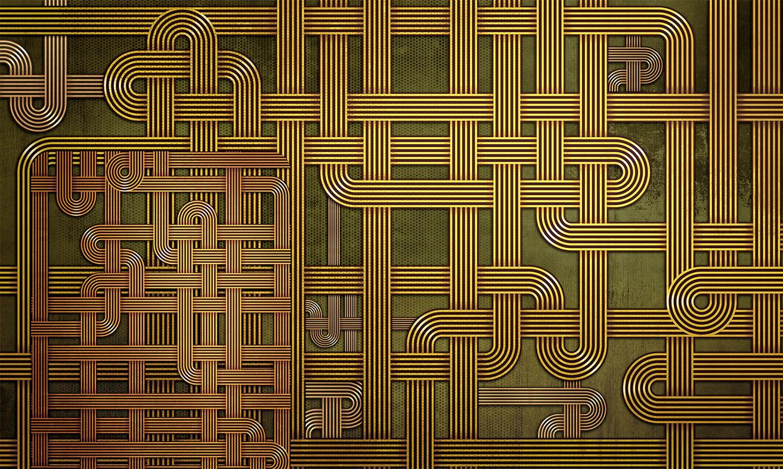 wallpaper Tangled-lines