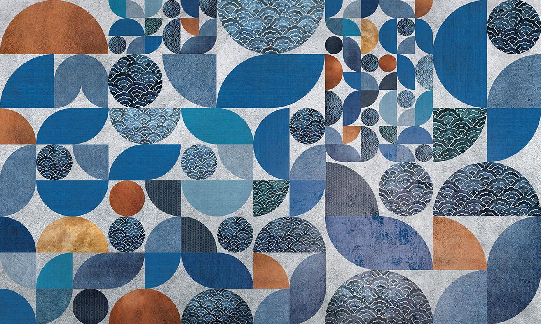wallpaper Azul wave